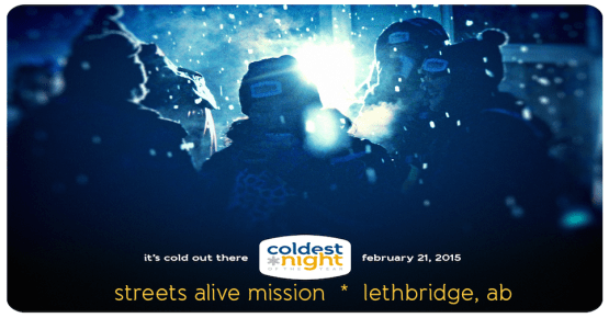 coldest night of the year 2015