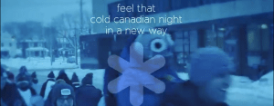 feel that cold canadian night in a new way - coldest night