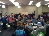 Panorama of the room: Thumbs UP!