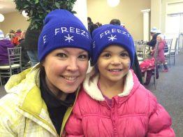 More lovely E-Freeze smiles! team page: http://bit.ly/eFreezeCNOY2015 — with Christine Light.