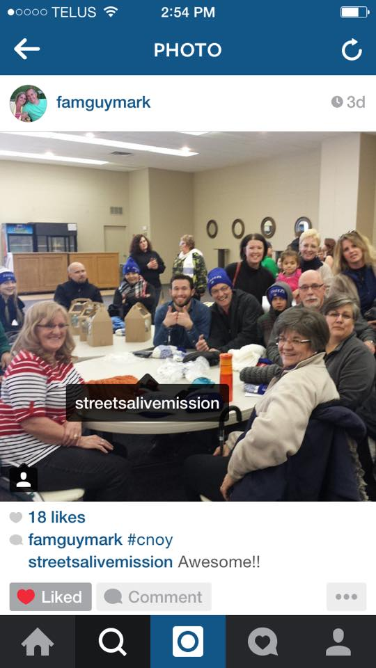 Mark Dyck shared some #CNOY pics on #Instagram! Thanks for the photos!! (And Team E-Freeze enjoyed the cake pops from Peace of Cake, too!)