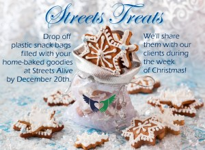 Streets Treats - Christmas Goodie Bags