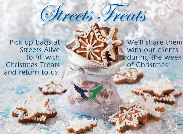 Streets Treats - Streets Alive Mission - Christmas 2015