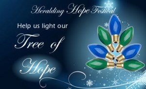 Tree of Hope - Streets Alive Mission - Heralding Hope