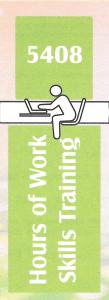 5408 work skills training in 2015
