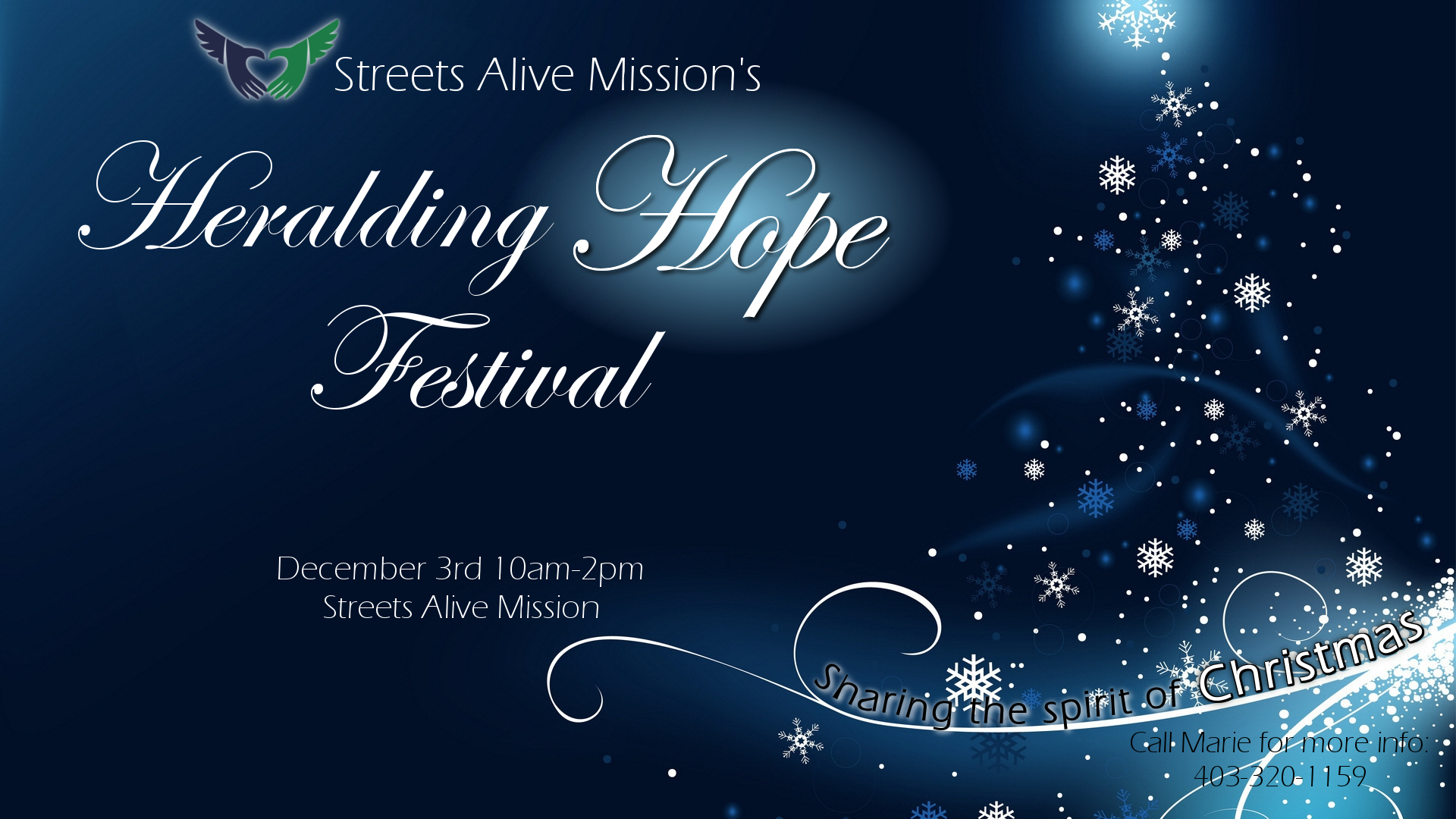Heralding Hope Festival 2016 - Streets Alive Mission