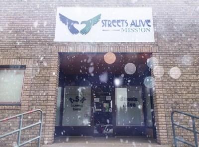 Streets Alive Mission - Snowing in Lethbridge