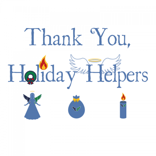 Thank You Holiday Helpers