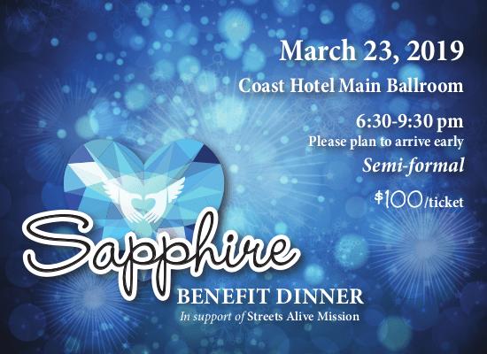 Sapphire Benefit Dinner