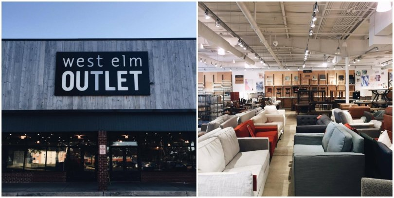 West Elm Outlet in Lancaster, PA