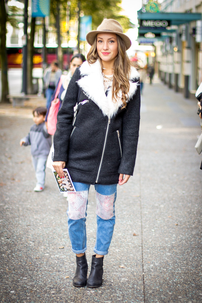 Topshop Canada, Vancouver street style