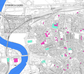 Mapping areas of sonic interest - Recomposing the City