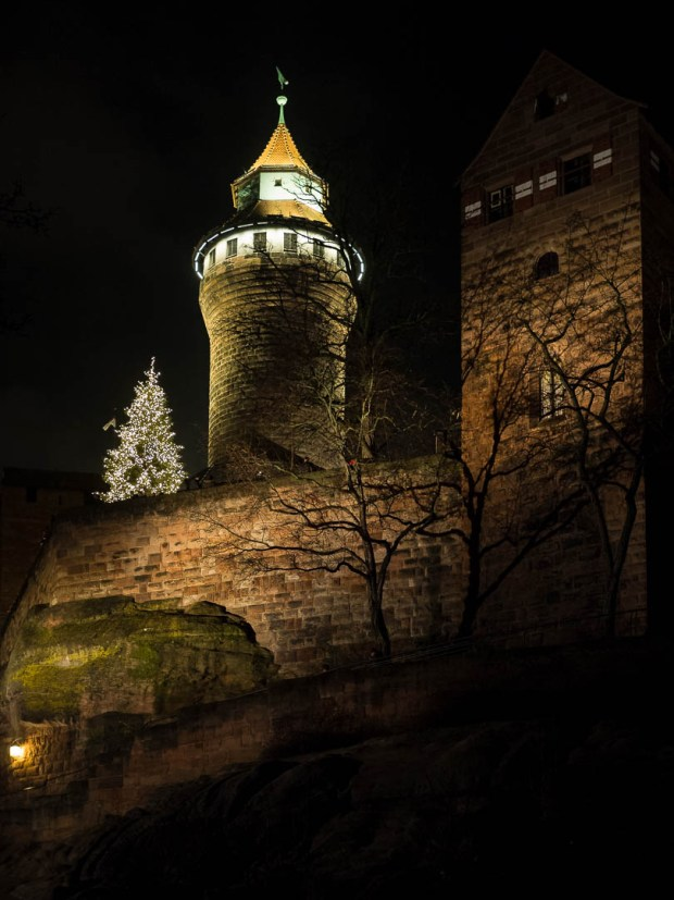 Imperial Castle |Nuremberg |2017 1/25 sec @f/1.8 and ISO 1600