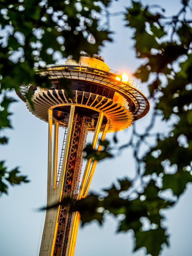 Space Needle |1/200 sec - f/4 - ISO 250 - 100mm