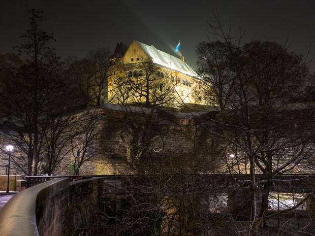 nuremberg old town in winter 03