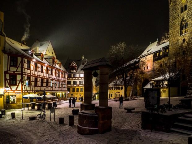 nuremberg old town in winter 10