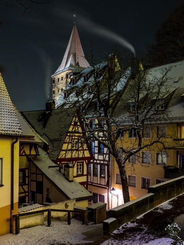 nuremberg old town in winter 11