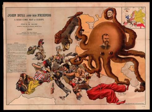 Octopus Map 1900