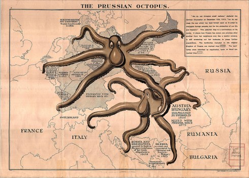 Octopus Map 1915 University of Toronto