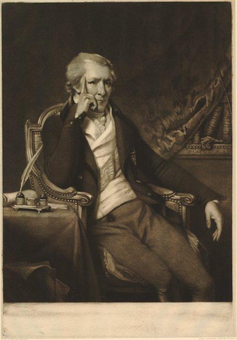 Rumford Portrait 1801