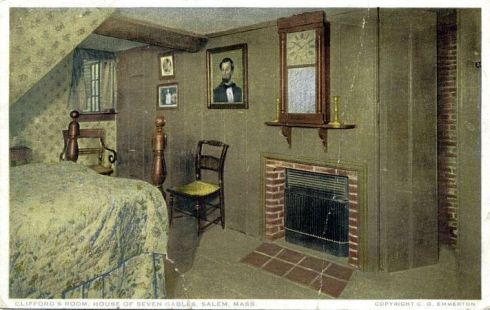 Bedroom at House of Seven Gables Salem