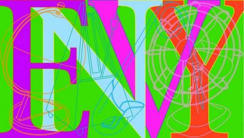 Envy 2008 by Michael Craig-Martin born 1941
