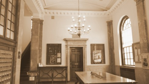 Post Office Interior