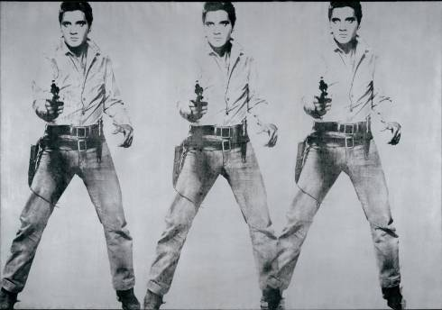 Triple Elvis Warhol