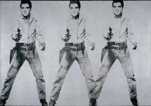 Triple Elvis Warhol