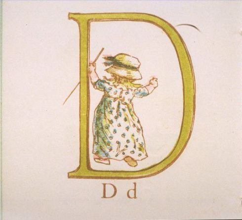 Alphabet D Greenaway V and A