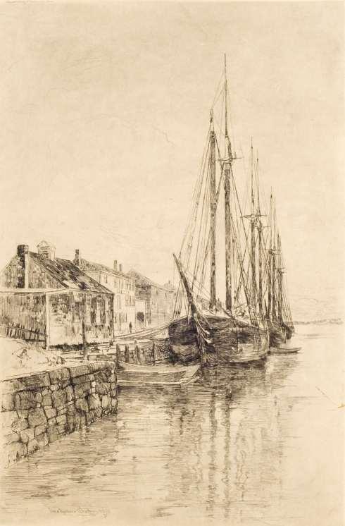Woodbury Derby Wharf 1889