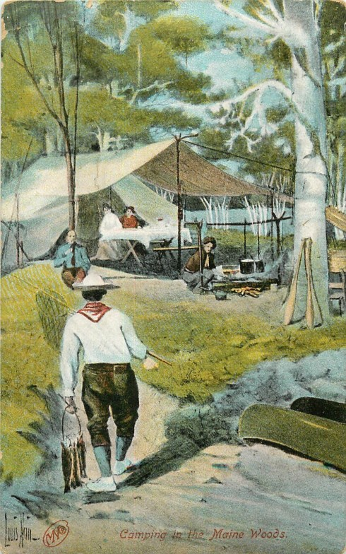 Camping 1909