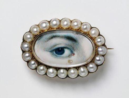 eye miniature V and A