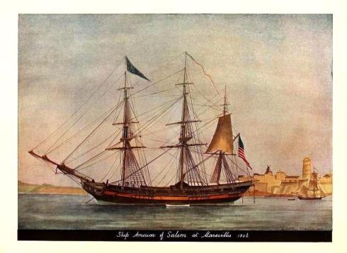 America of Salem Old Time Ships