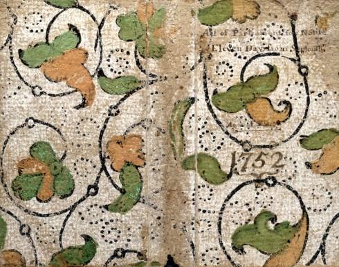 Poor Richard's Almanack 1752 cover