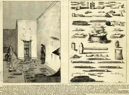 Burglarious Tools 1875 Montreal NYPL