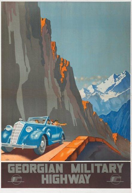 Soviet Poster Georgia