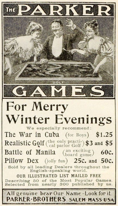 War Games Parker Brothers