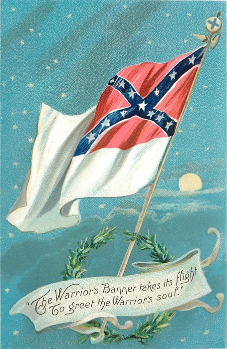 Decoration Day Tuck South Flag 1907