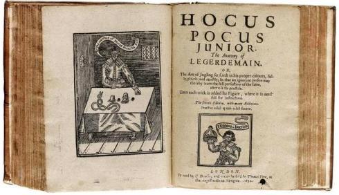 Hocus Pocus 1654 ed