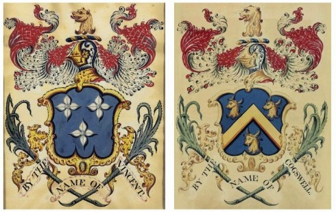 Salem Heraldry Paintings Coles