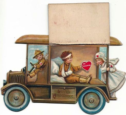 Valentine Ambulance Interior Bod Lib