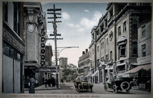 Essex Street Salem c 1915