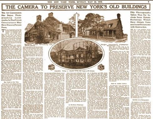 Cousins NYT Article May 1914