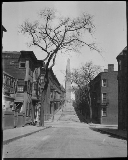 Bunker Hill Monument BPL 1920