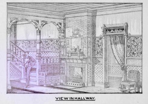 oldhomesmadenew modernized hallway