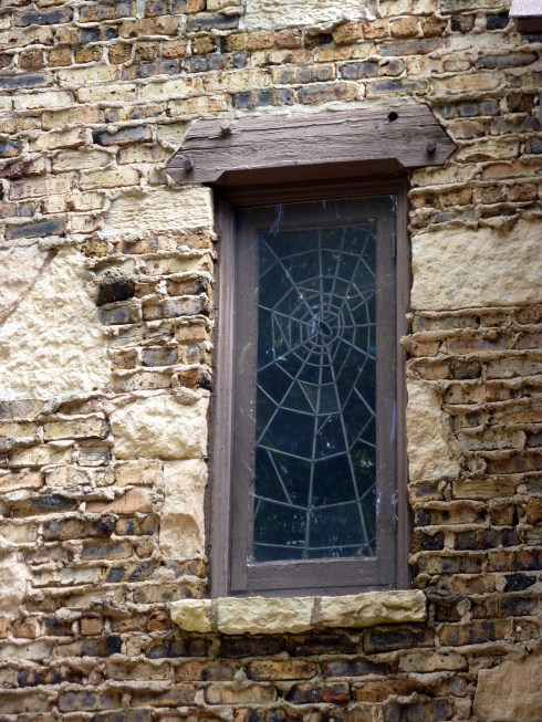 Spider Web Window Zook House