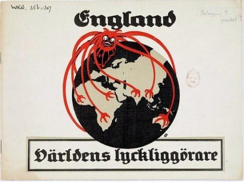 Swedish Propaganda Poster 1918 CUL