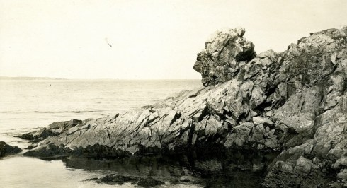 Baker's Island Rock Formation SSU Archives