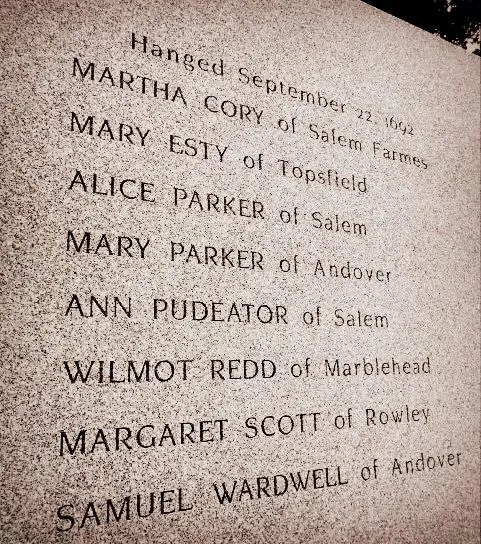 Salem Witch Trial Memorial Danvers MA